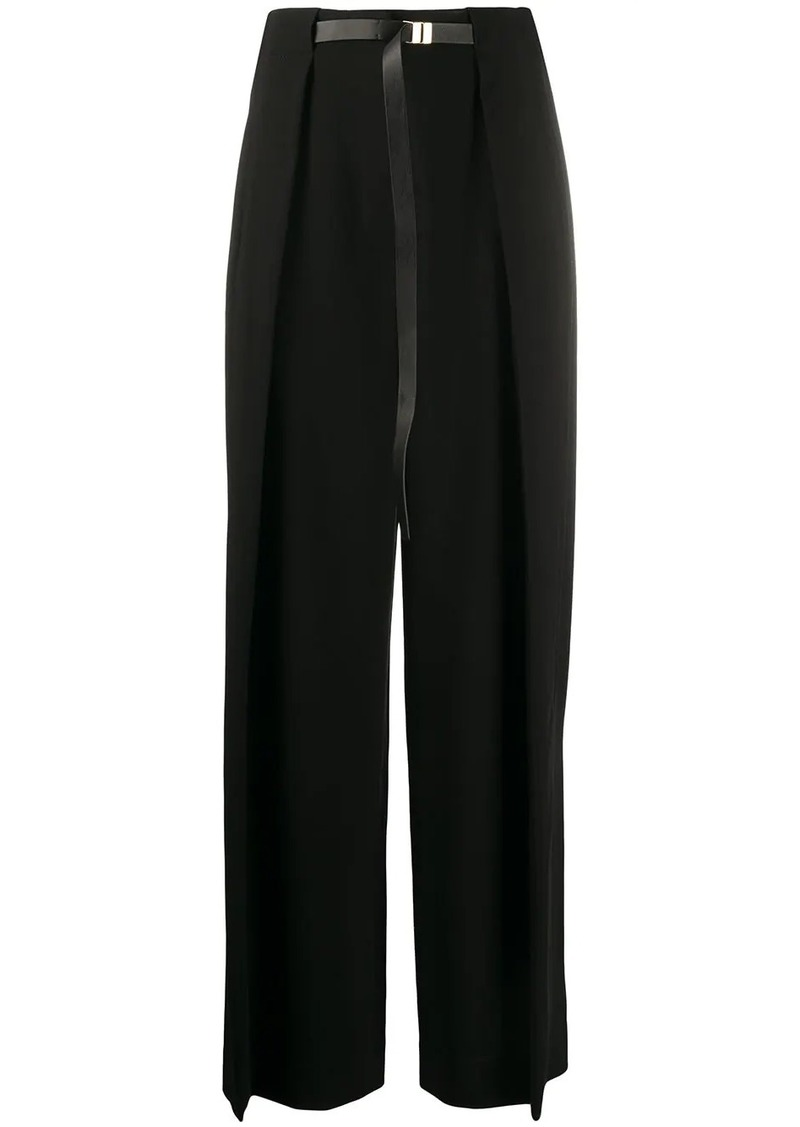 The Row high waisted palazzo trousers