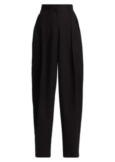 The Row Igor Washed Cotton Trousers
