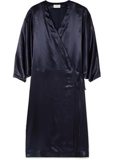 The Row Impu Satin Wrap Coat