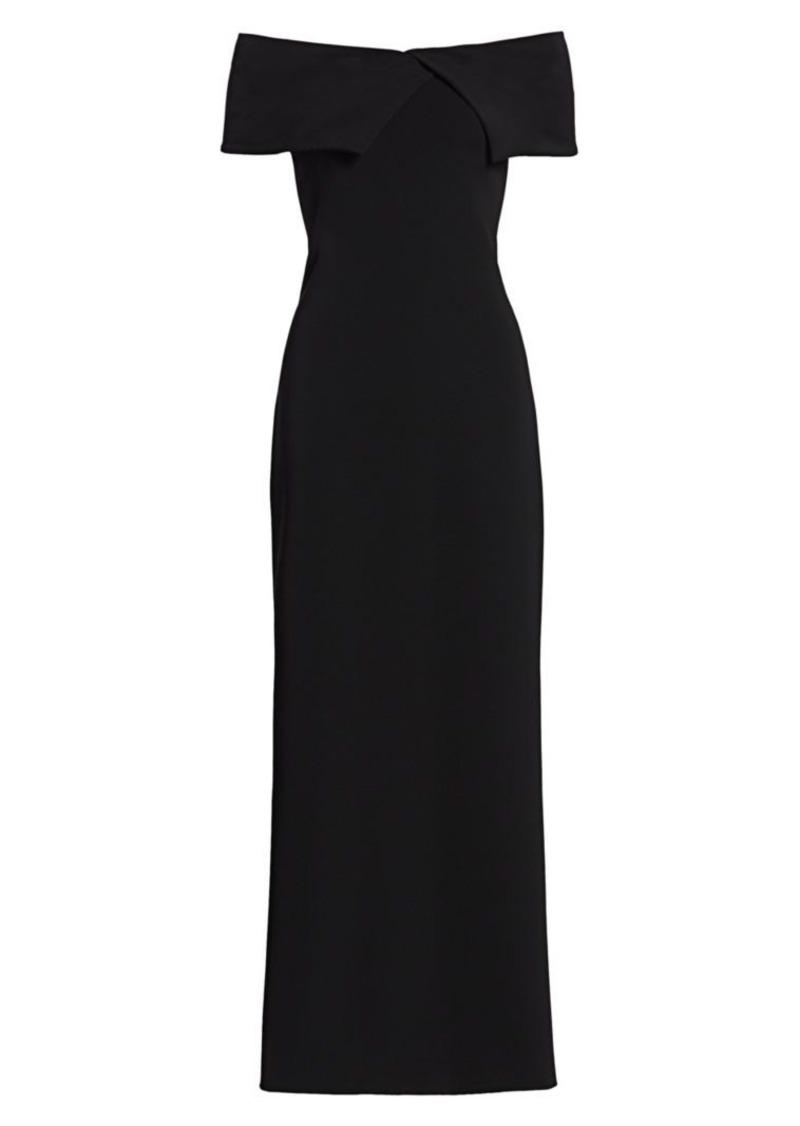 The Row Joni Off-The-Shoulder Dress