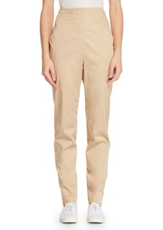 The Row Keith High-Waist Straight-Leg Pants