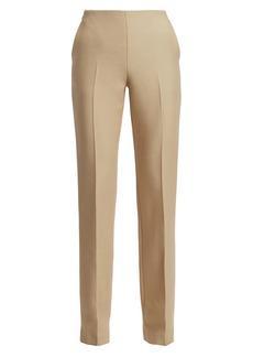 The Row Ladan Wool & Silk Trousers