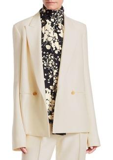 The Row Lione Virgin Wool & Silk Jacket