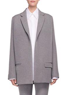 The Row Lohjen Open-Front Oversized Blazer Jacket