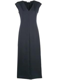 The Row long v-neck dress
