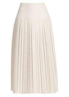 The Row Magdita Pleated Skirt