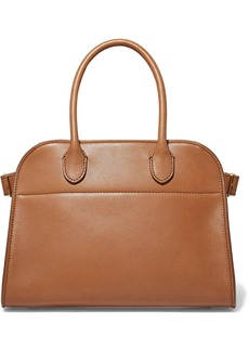 The Row Margaux 10 Buckled Leather Tote