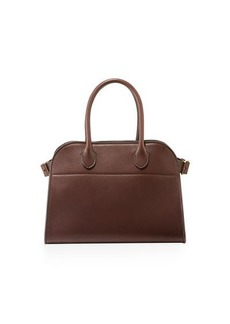 The Row Margaux 10 Smooth Calfskin Top-Handle Bag