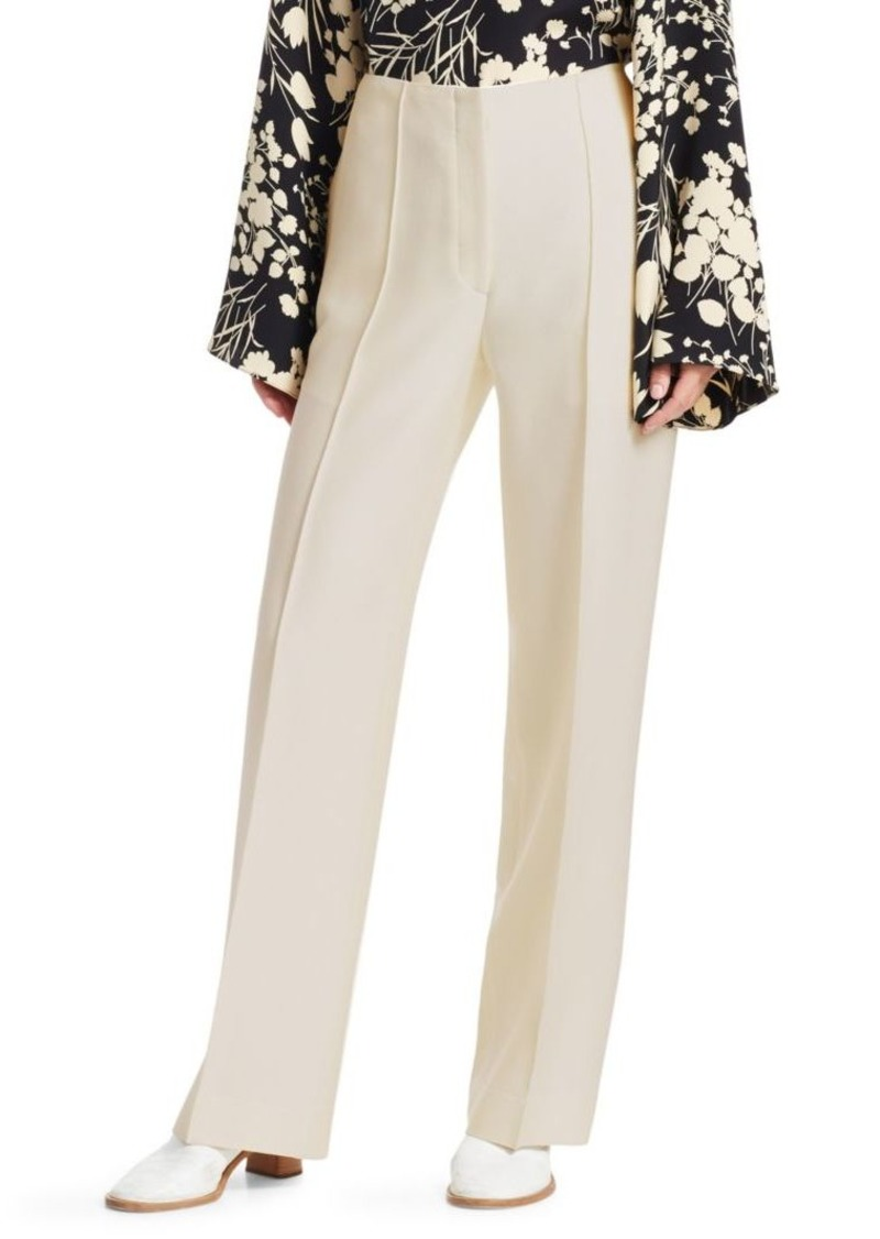 The Row Max Virgin Wool & Silk Pants