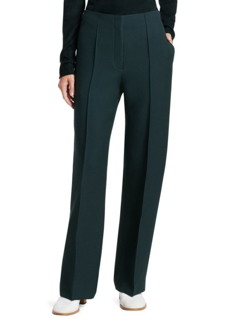 The Row Max Wool & Silk Pants