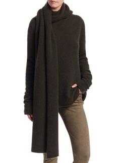 The Row Merriah Wrap-Scarf Sweater