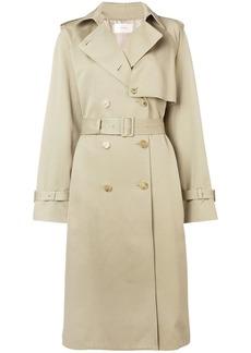 The Row midi trench coat