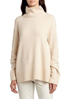 The Row Milina Oversized Turtleneck Sweater