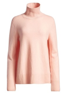 The Row Milina Wool & Cashmere Knit Turtleneck Sweater