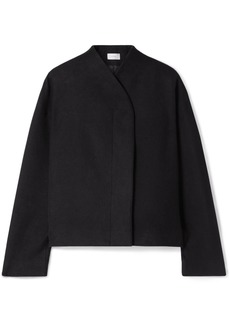 The Row Moona Cotton And Wool-blend Jacket
