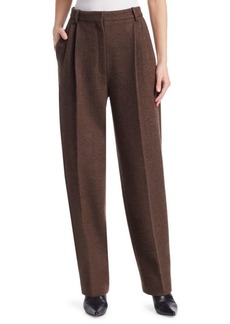 The Row Nika Wool & Cashmere Trousers