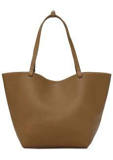 The Row Park Tote 3 Grained Leather Tote