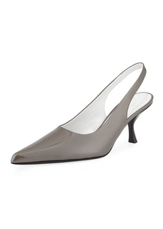 fc2360f5f8a The Row Patent Bourgeoisie Slingback Pumps