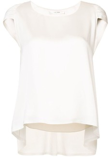 The Row pleated detail blouse