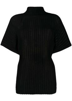 The Row plissé ribbed T-shirt