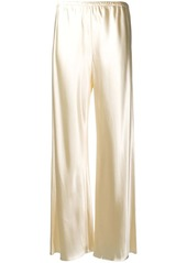 The Row pull-on wide-leg trousers