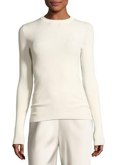 The Row Ridiah Long-Sleeve Crewneck Sweater