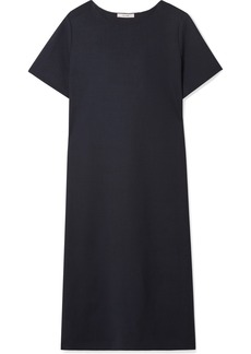 The Row Rory Oversized Stretch-wool Crepe Midi Dress