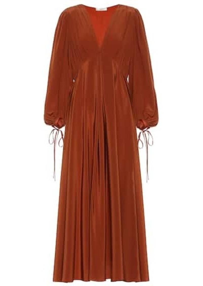 The Row Sante silk-crêpe maxi dress