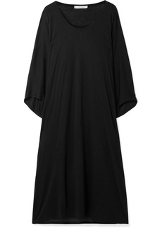 The Row Serlyn Oversized Stretch-jersey Dress