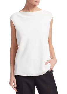 The Row Shella Drape Top