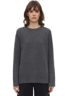 The Row Sibel Wool & Cashmere Knit Sweater