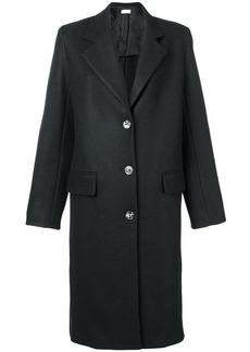 The Row single breasted midi coat