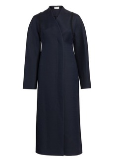 The Row Tanilo Wool Silk Coat