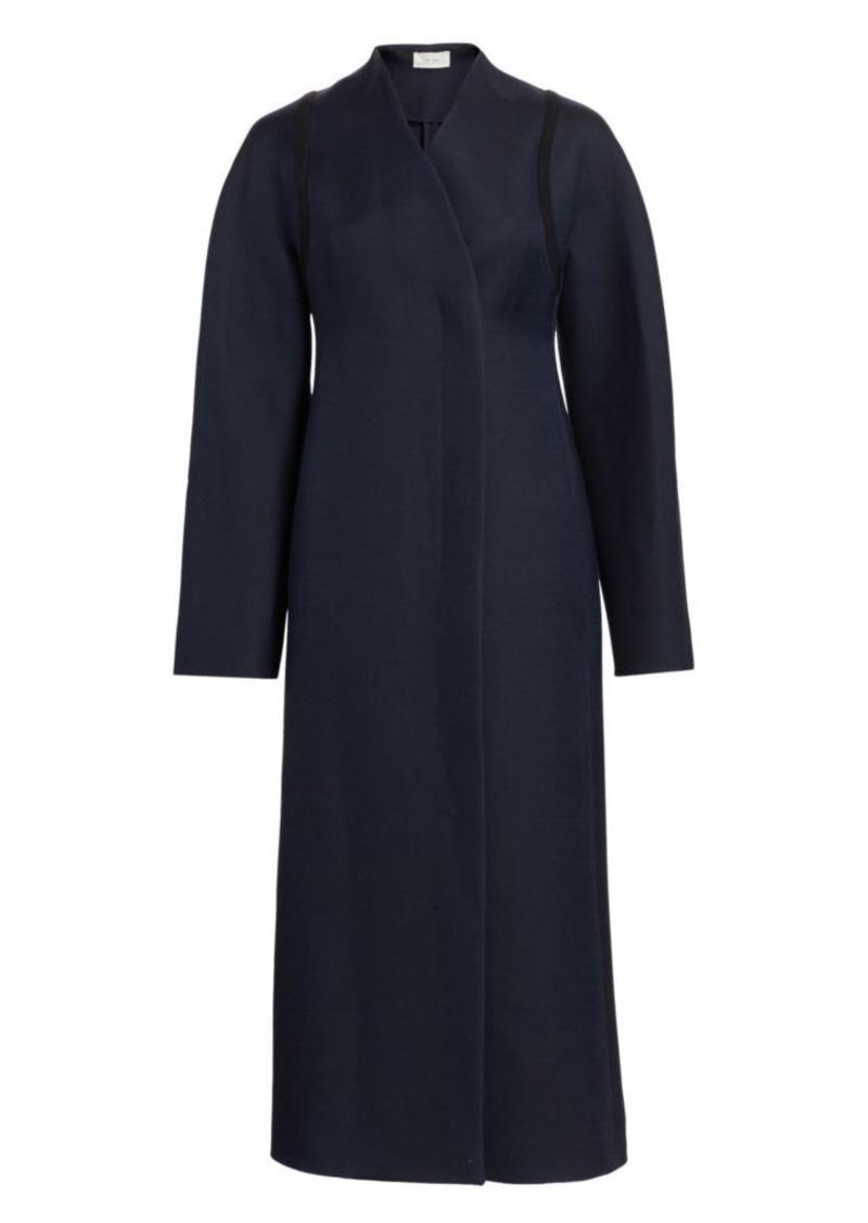 The Row Tanilo Wool Silk Coat