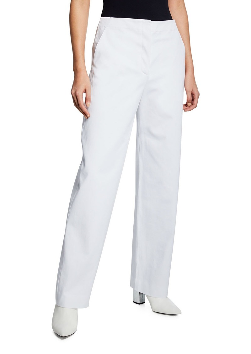 The Row Taylor Straight-Leg Pants