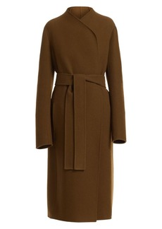 The Row Terin Virgin Wool-Blend Wrap Coat