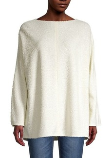 The Row Textured Boatneck Top