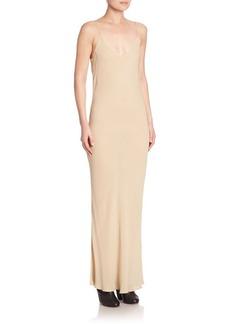 The Row Aca Silk Slip Dress