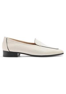 The Row Adam raffia loafers