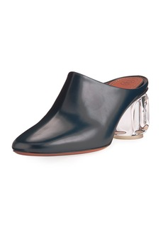 THE ROW Adela Mule with Glass Heel
