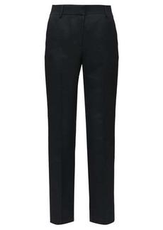 The Row Alexa wool-twill pleated trousers