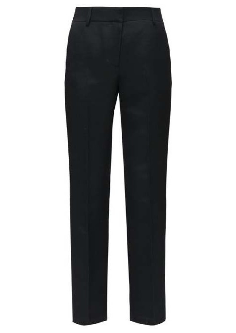 The Row Alexa wool-twill straight-leg trousers