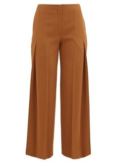 The Row Alexa virgin wool pleated trousers