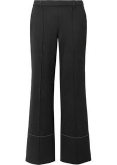 The Row Alisei Stretch-neoprene Wide-leg Pants