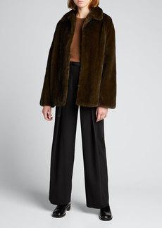 THE ROW Alon Mink Fur Jacket