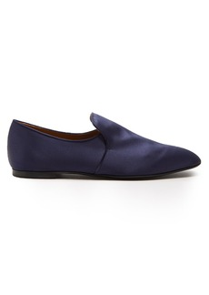 The Row Alys satin loafers
