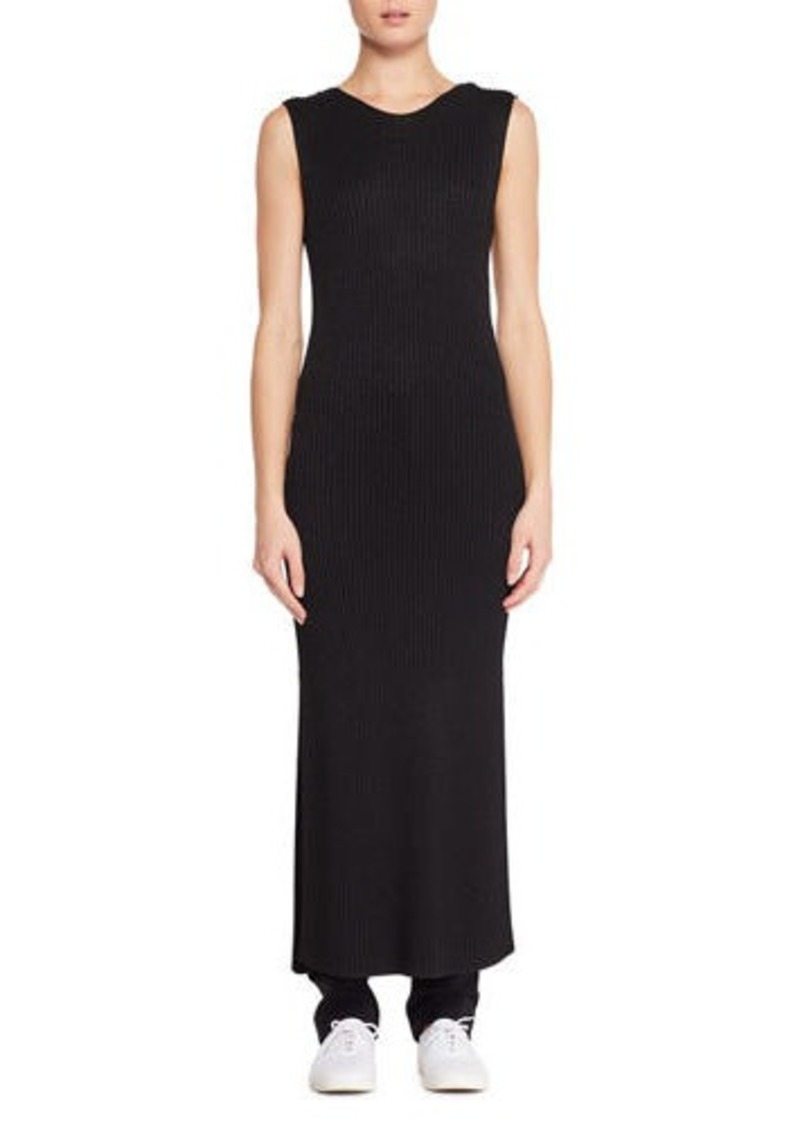 THE ROW Ameris Sleeveless Knit Long Tunic Dress