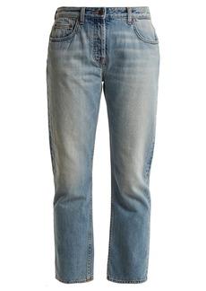The Row Ashland mid-rise straight-leg jeans