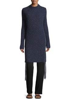 THE ROW Atuni Cashmere Side-Zip Sweaterdress
