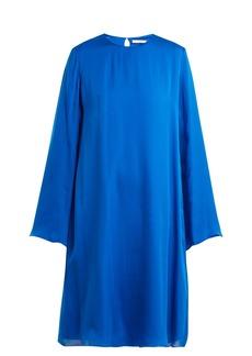 The Row Bantoi silk-charmeuse tunic dress